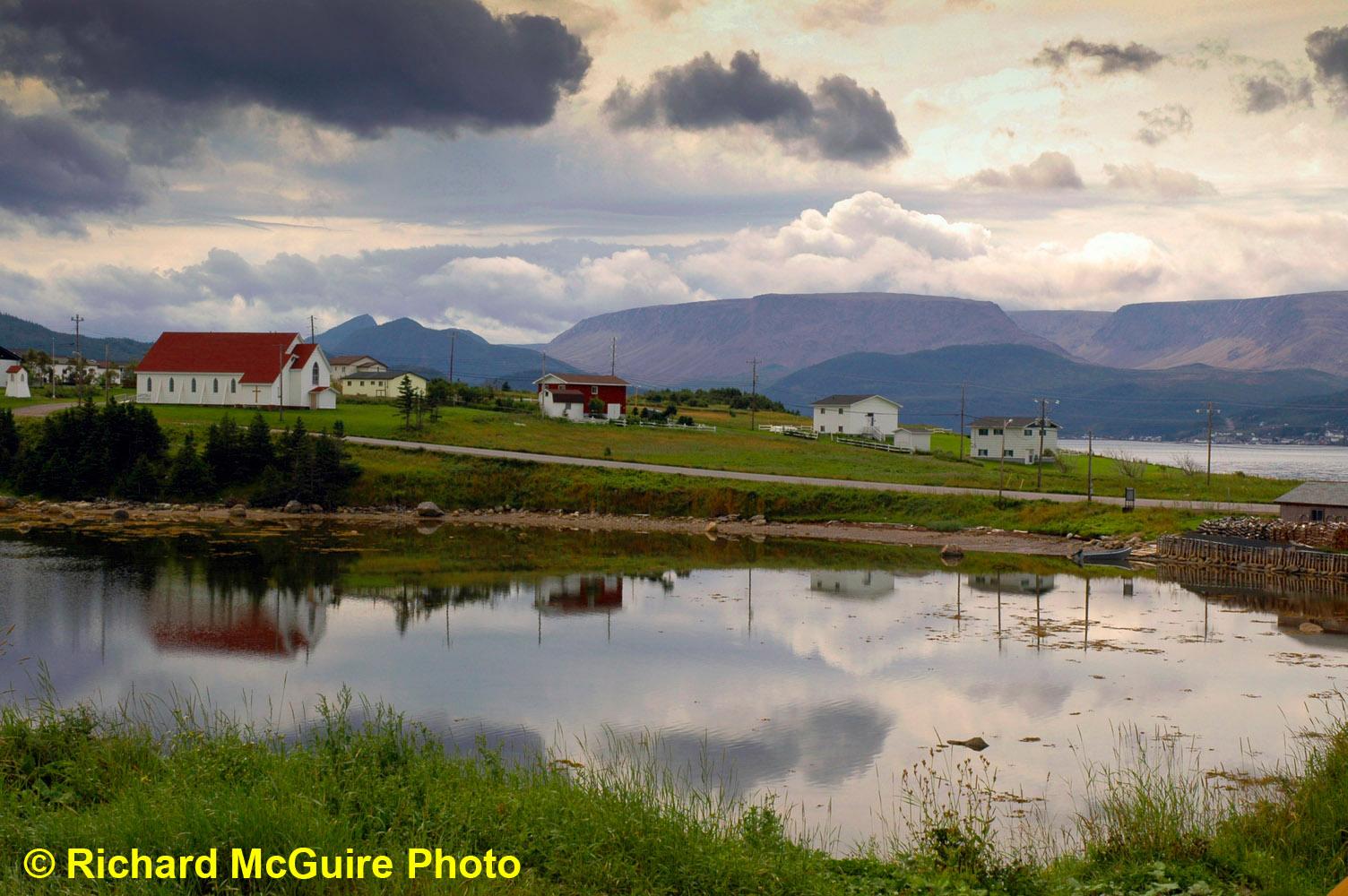 Near Norris Point, Gros Morne National Park, Newfoundland and Labrador, Canada