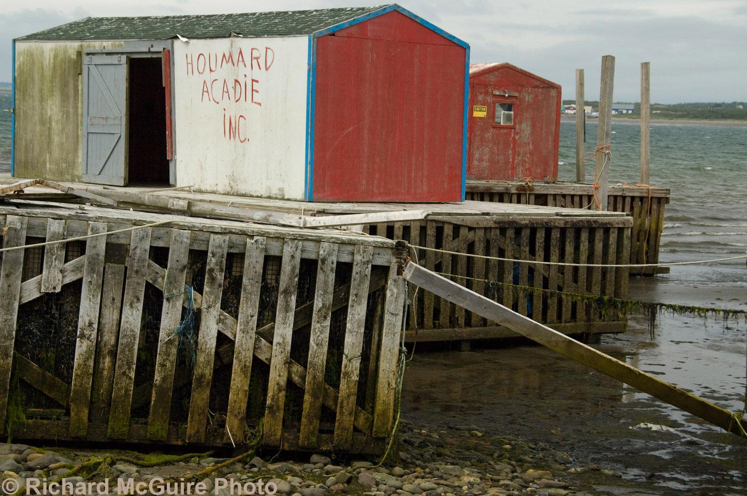 Lobster business, Meteghan, Nova Scotia