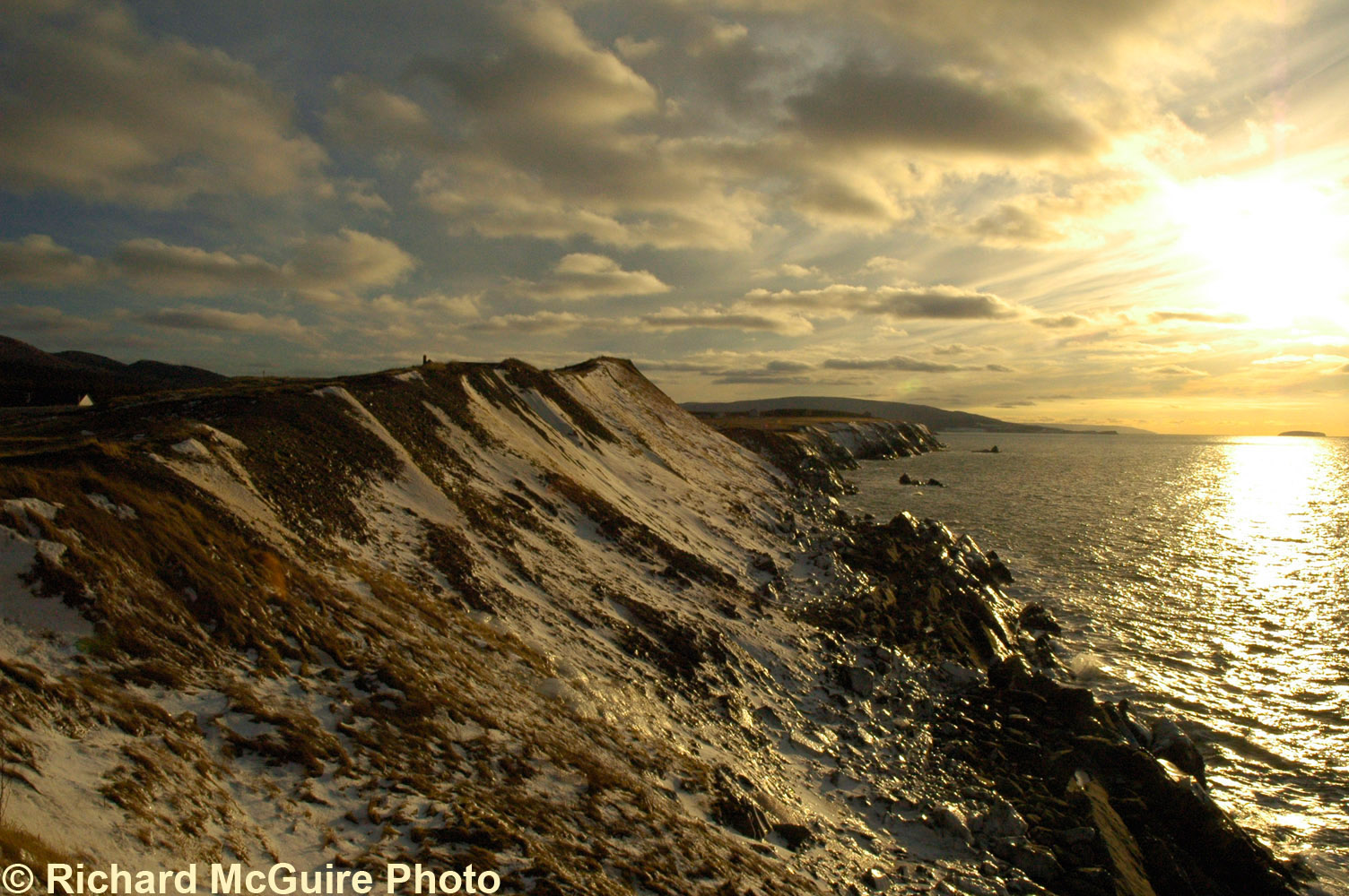 Late Afternoon Sun, Cabot Trail, Cape Breton