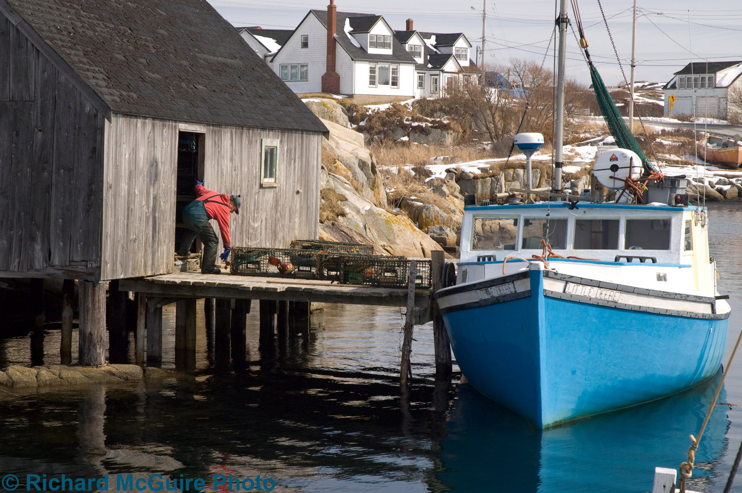 Fishing Boat, Peggy's Cove
