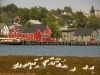 Lunenburg, Nova Scotia, from across the water