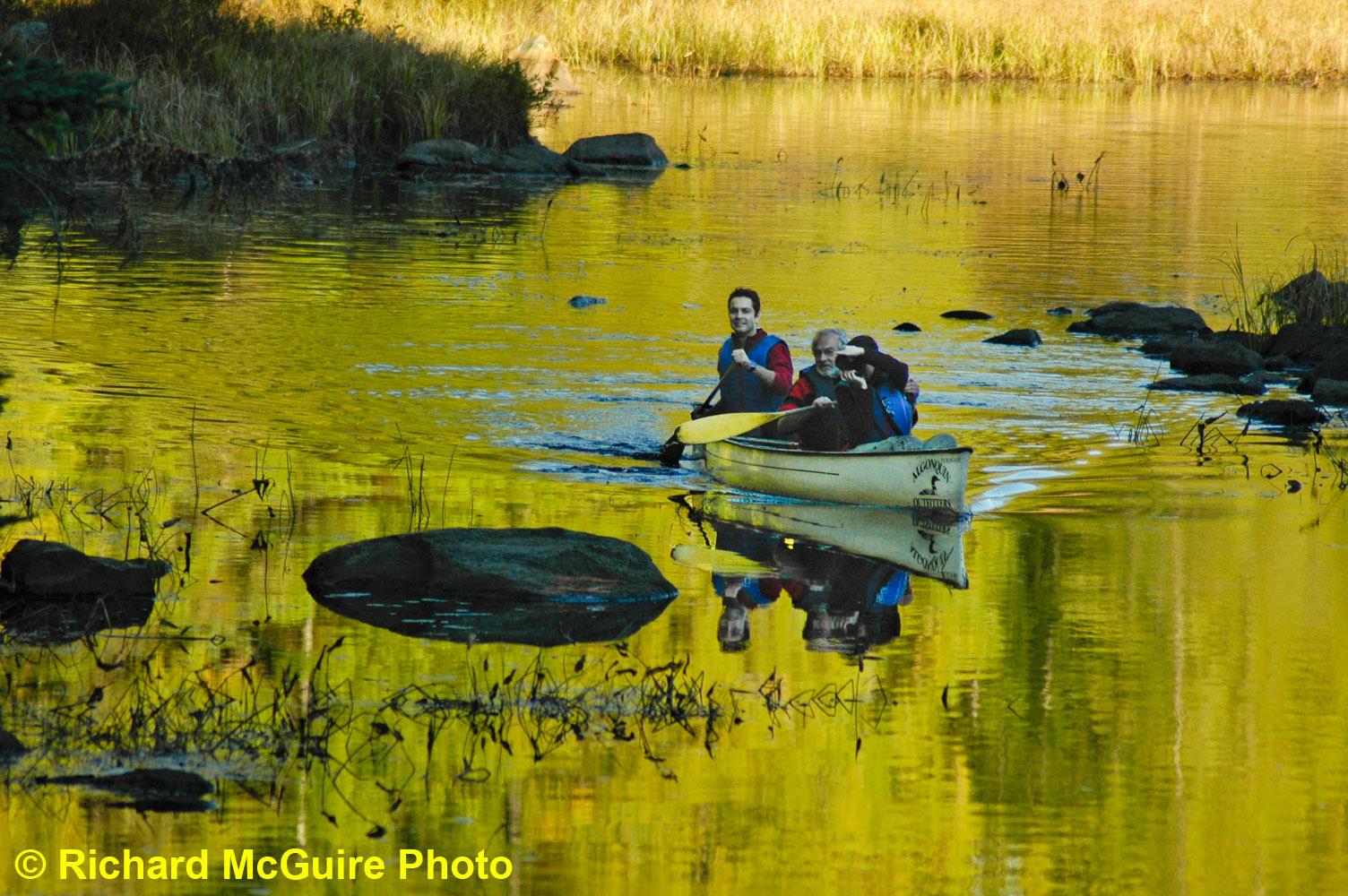 Algonquin Park, a canoeist paradise