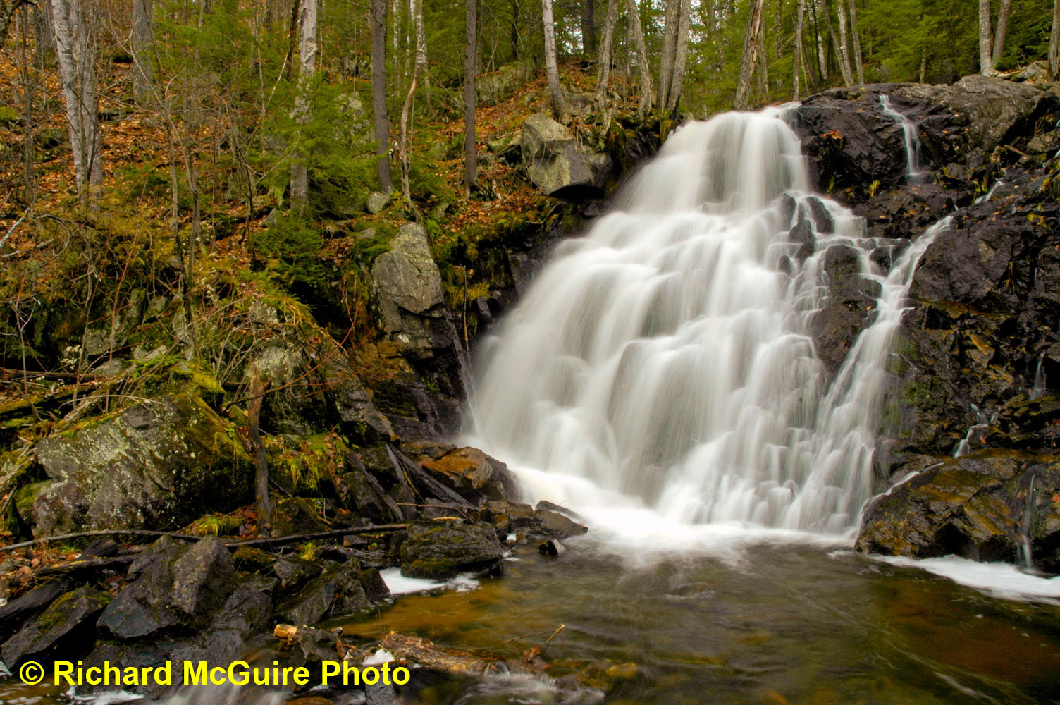 Waterfall, Gatineau Hills