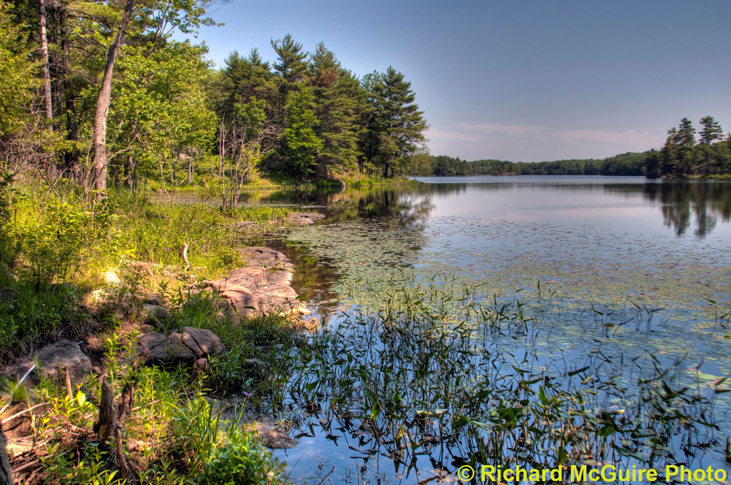South Otter Lake, Frontenac Provincial Park