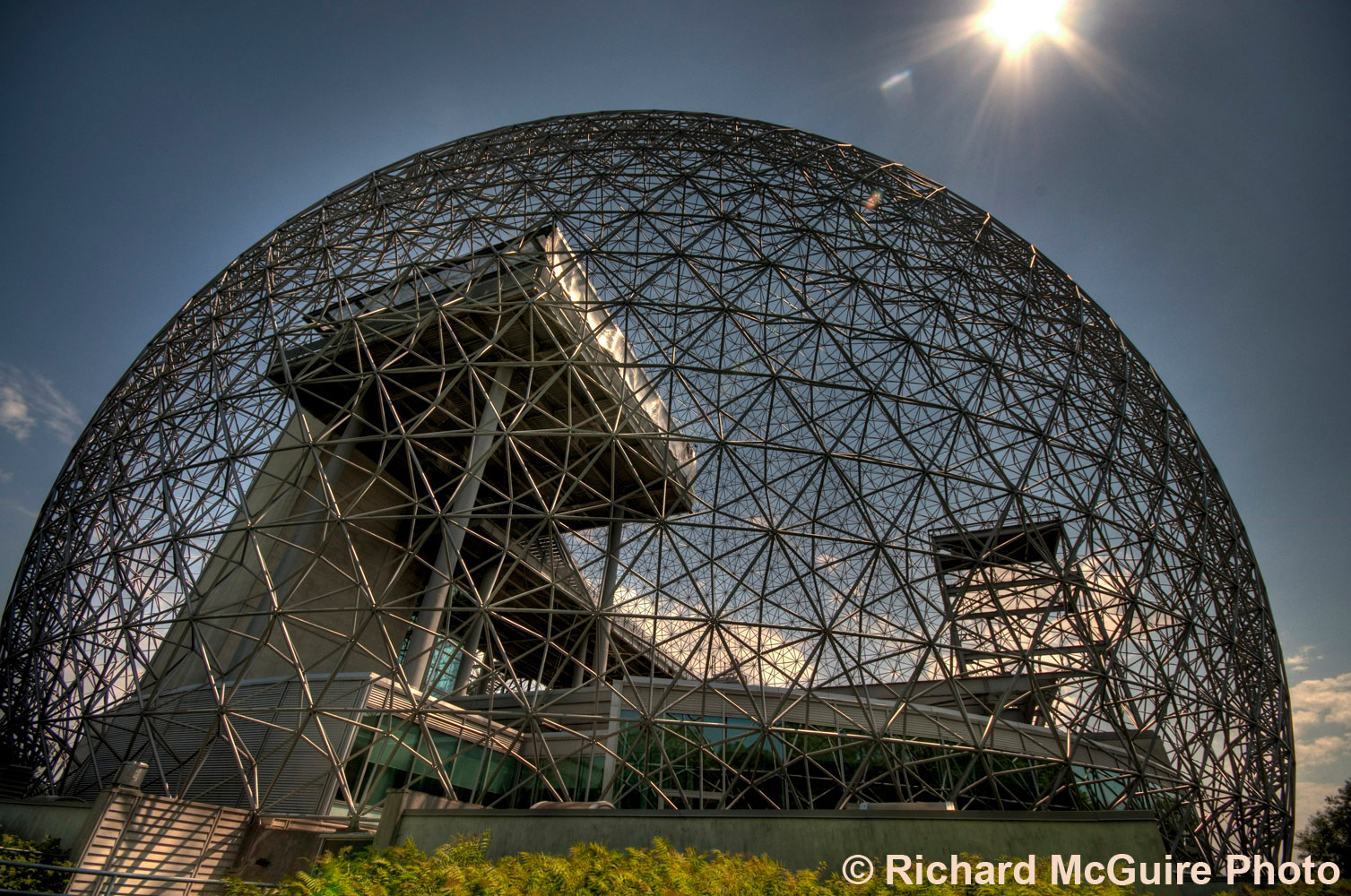 Montreal Biosphere, former U.S. Expo pavillion