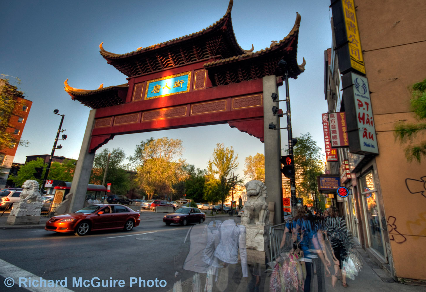 Entry to Chinatown, Montreal