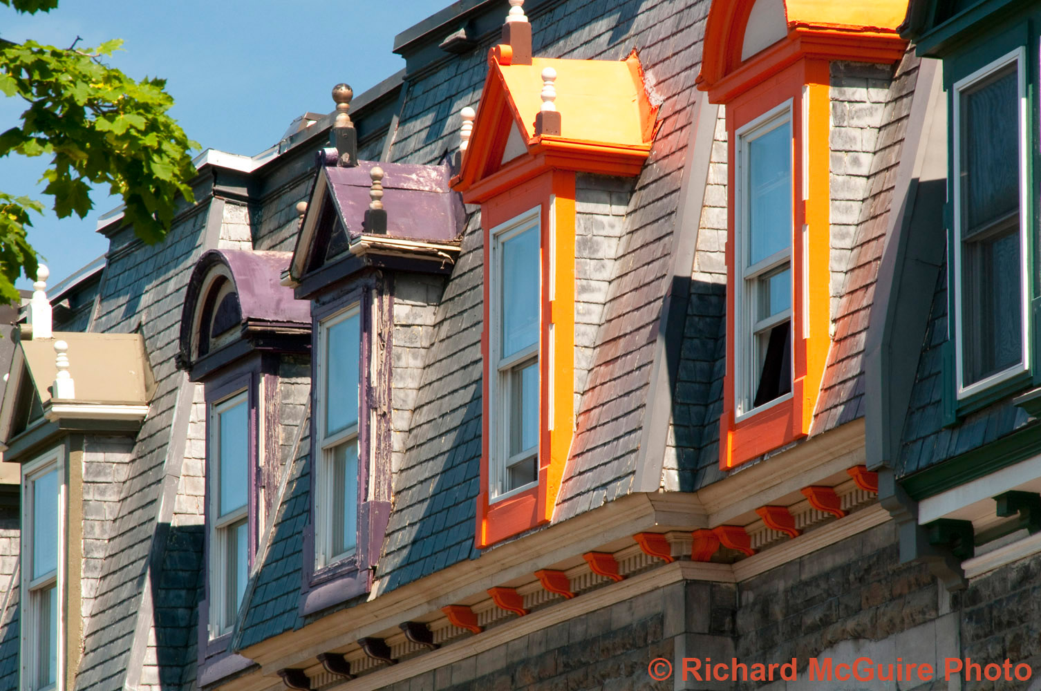 Rooftops, Montreal Plateau