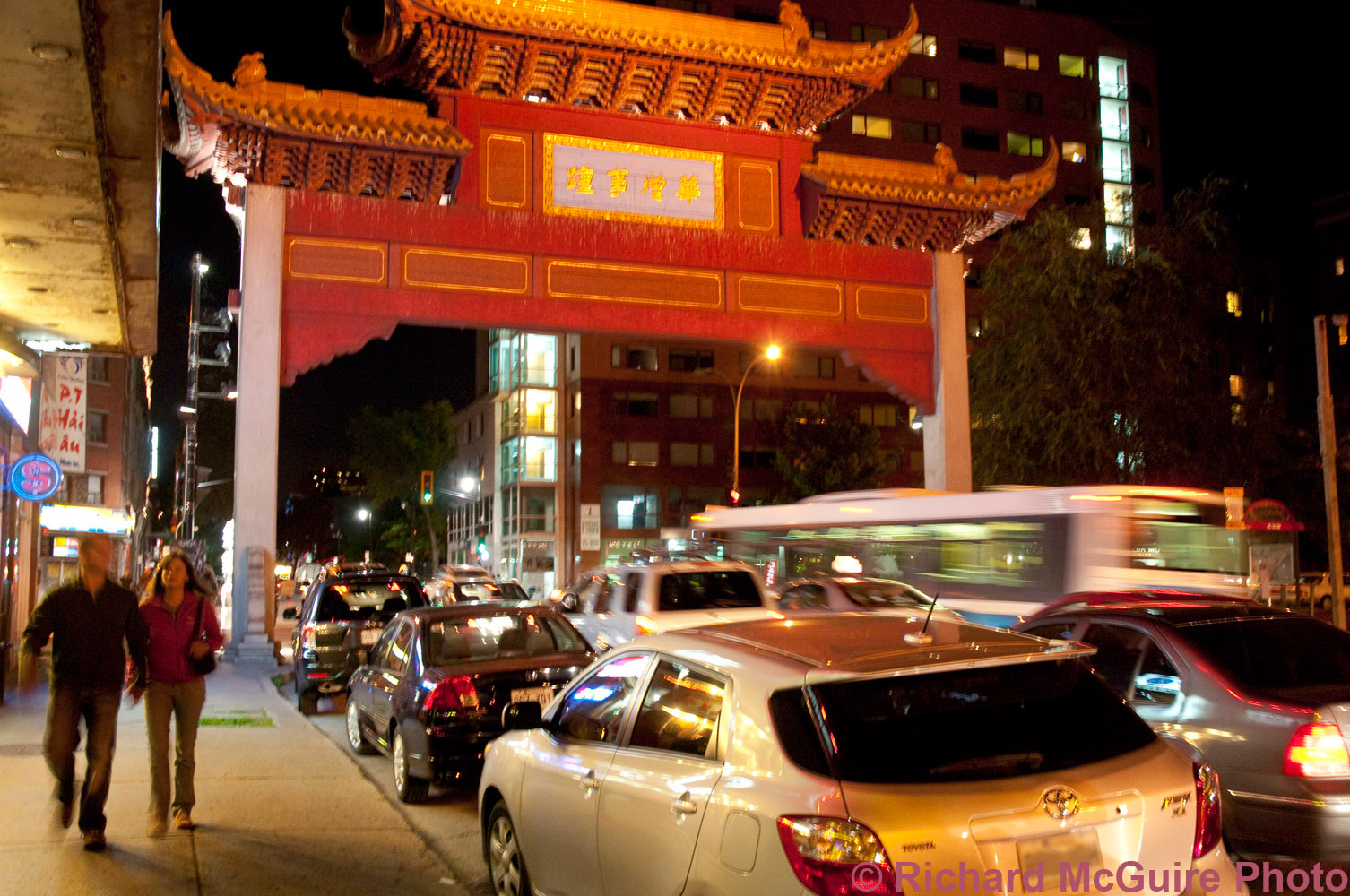 Evening in Chinatown, Montreal (3)