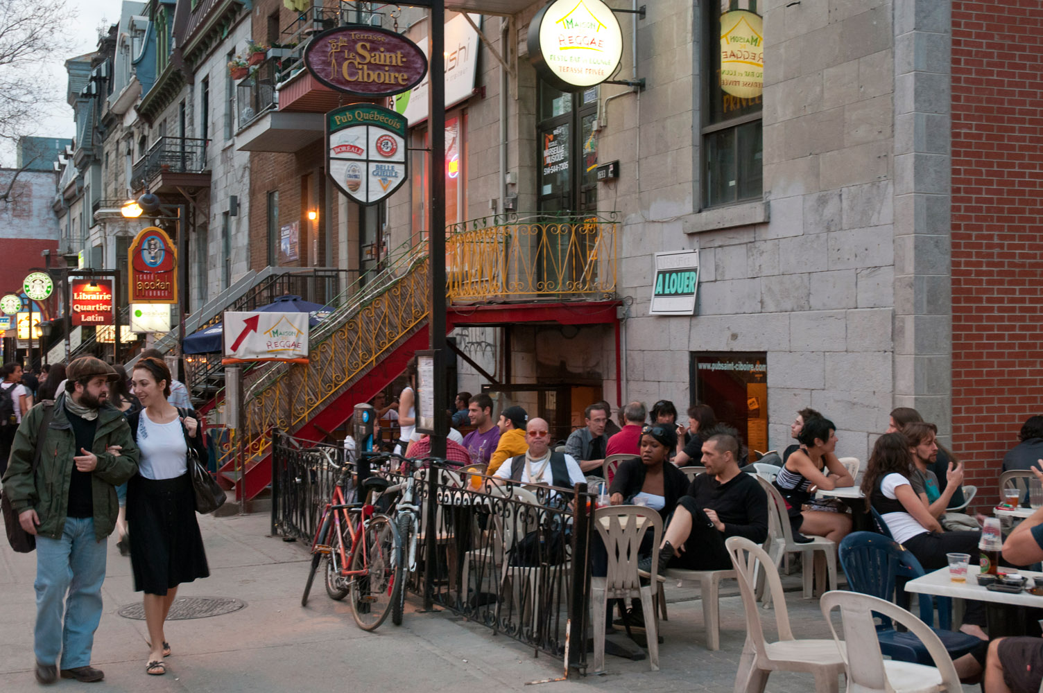 The Latin Quarter, Montreal, Quebec
