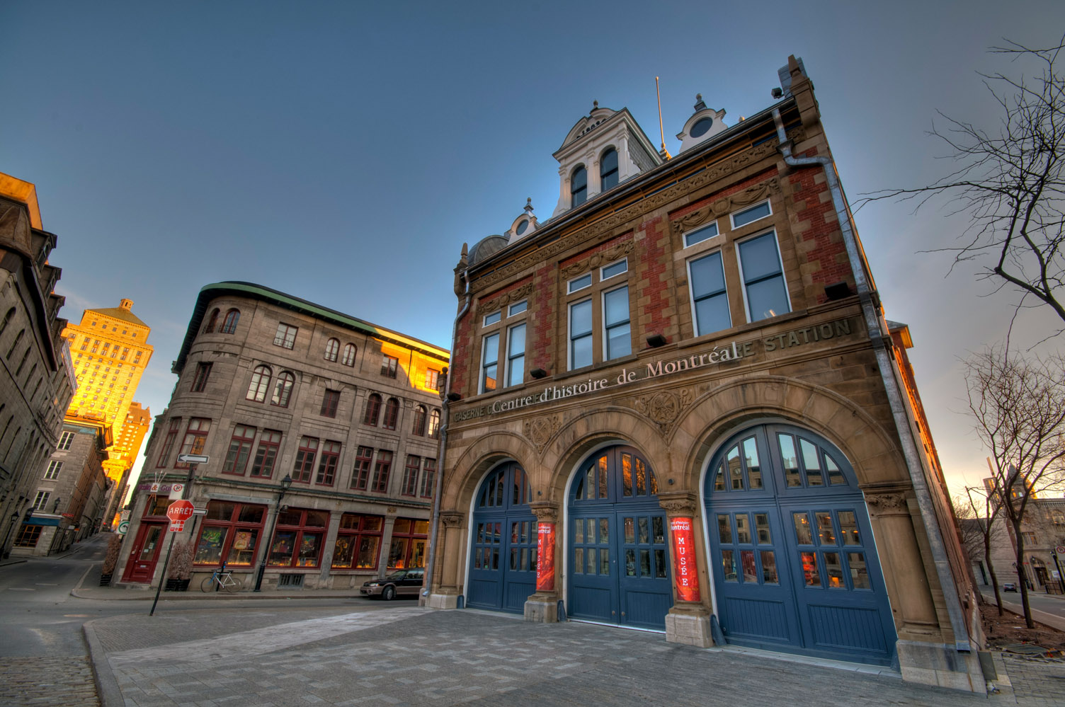 Old fire station, Montreal