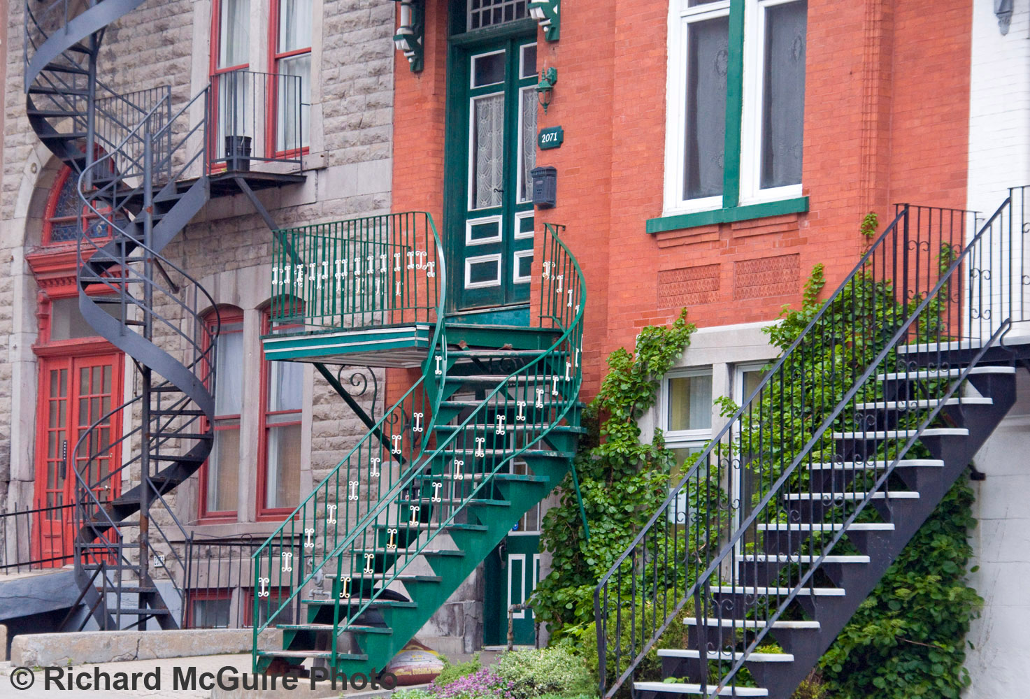 Outdoor staircases, Montreal