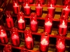 Candles, St. Joseph's Oratory, Montreal, Quebec, Canada