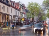 Evening rain, Latin Quarter, Montreal, Quebec