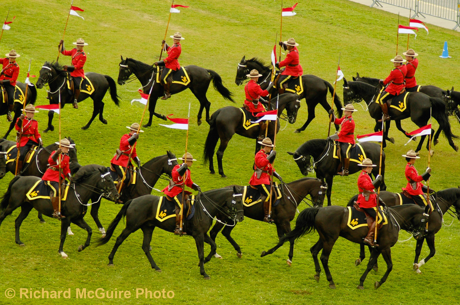 RCMP Musical Ride, Canada Day, Ottawa