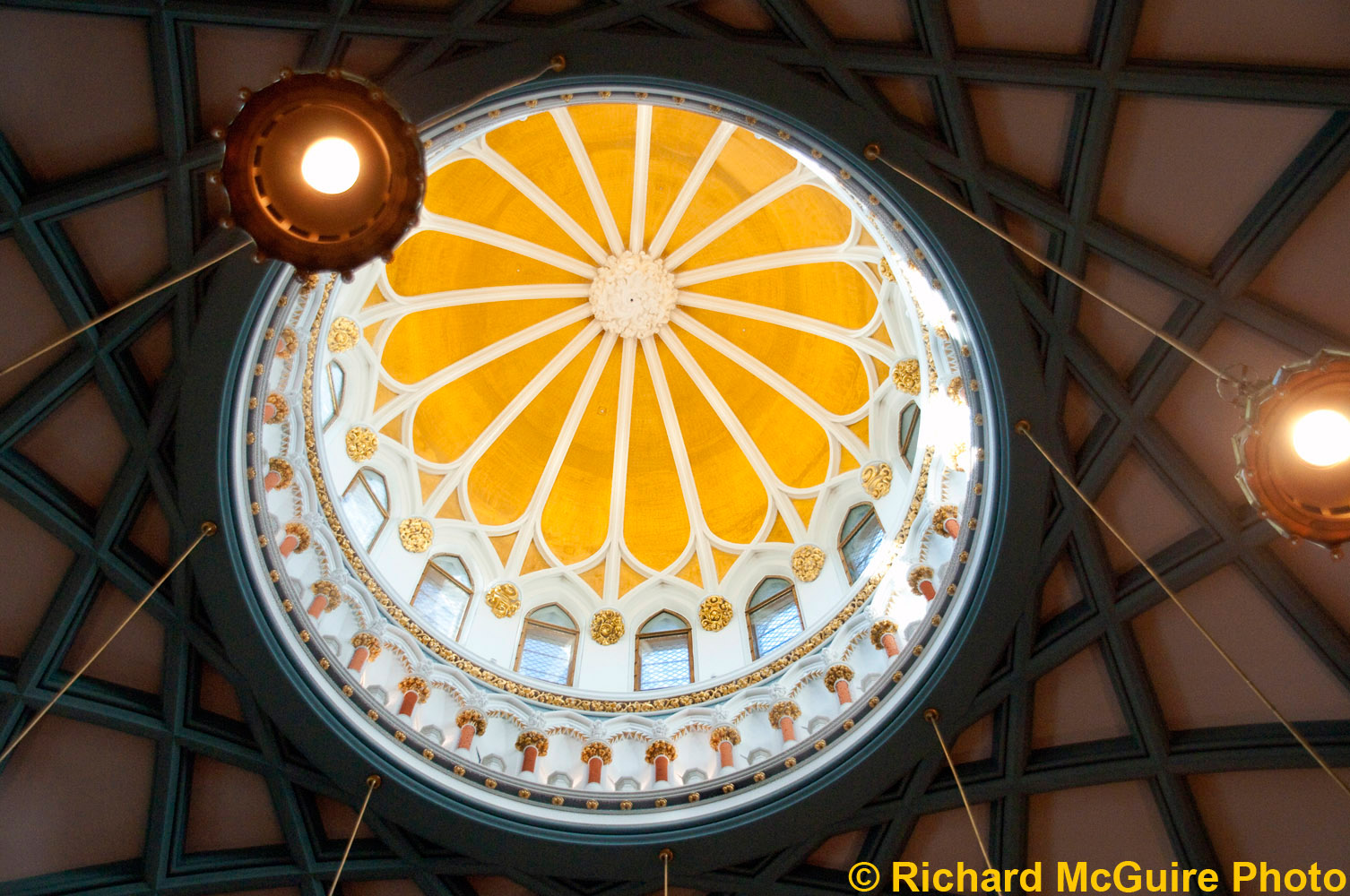 The cupola, Library of Parliament, Ottawa