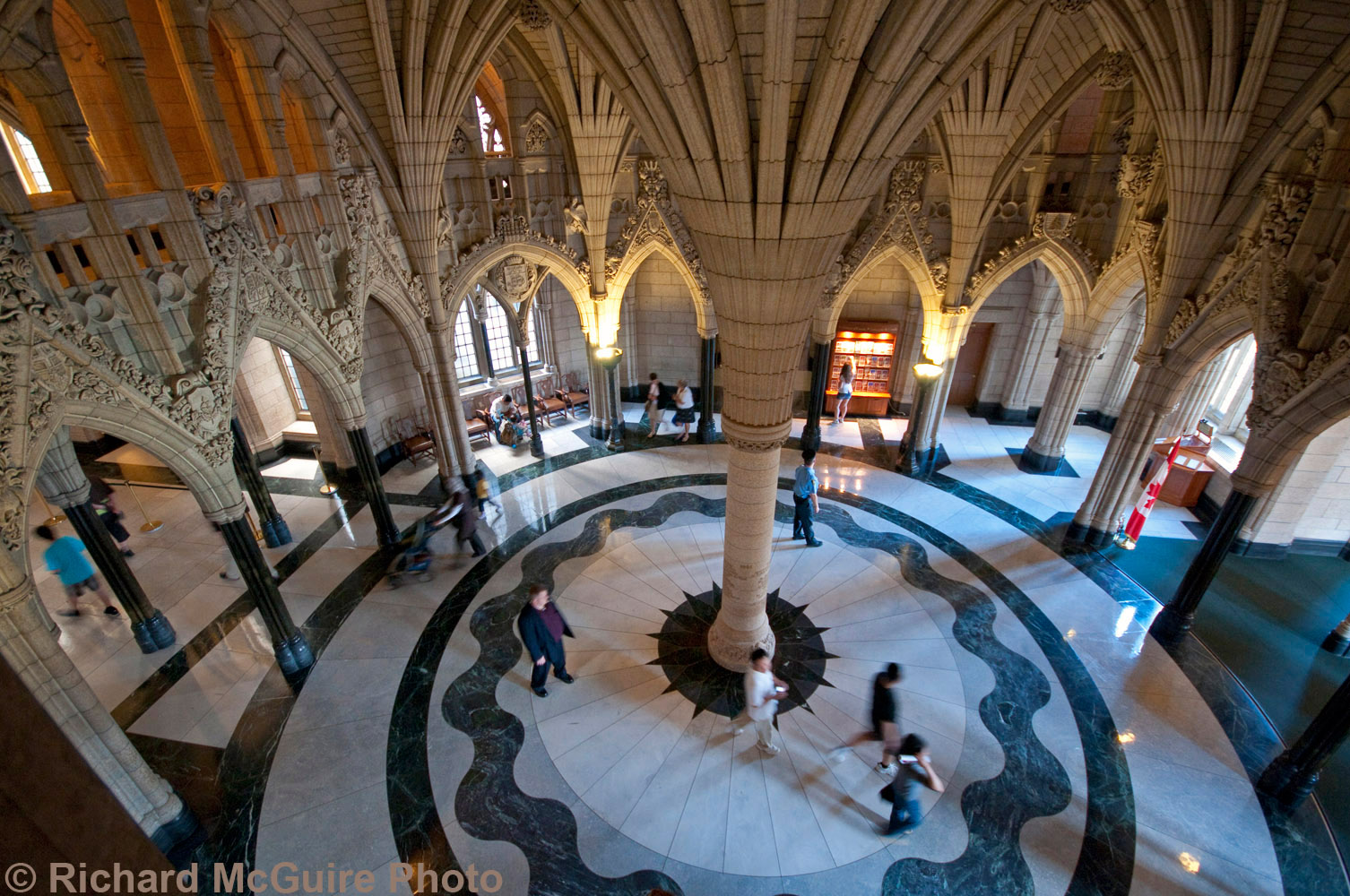 The rotunda, Centre Block, Parliament Buildings, Ottawa (2)