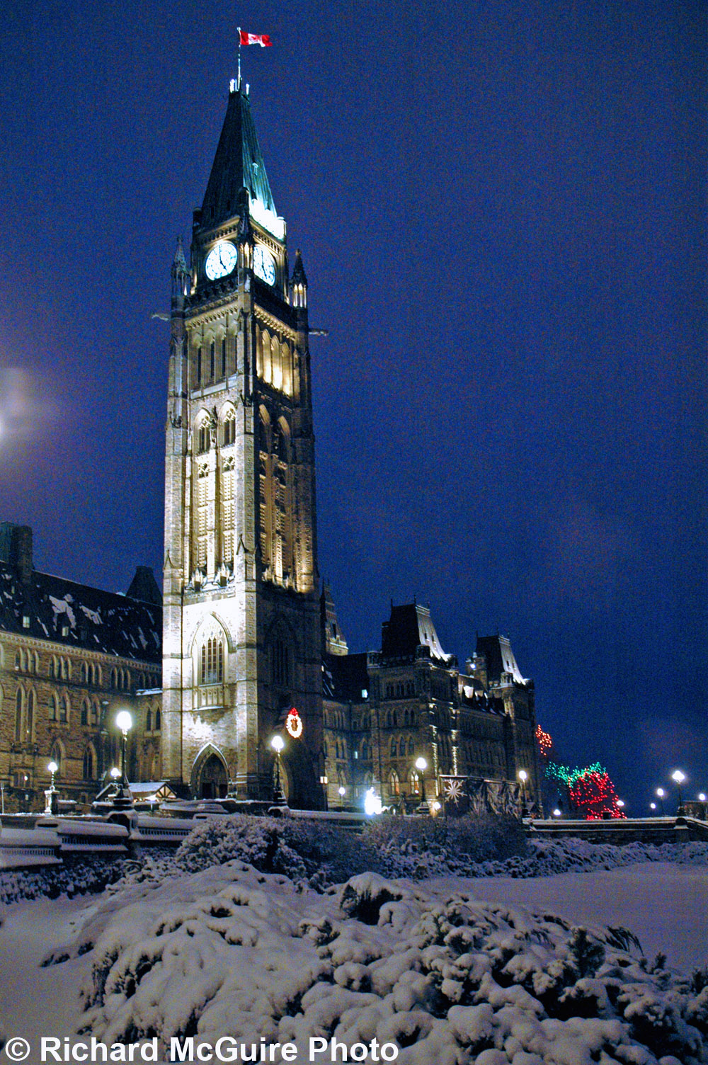 Parliament Buildings in Winter (3)