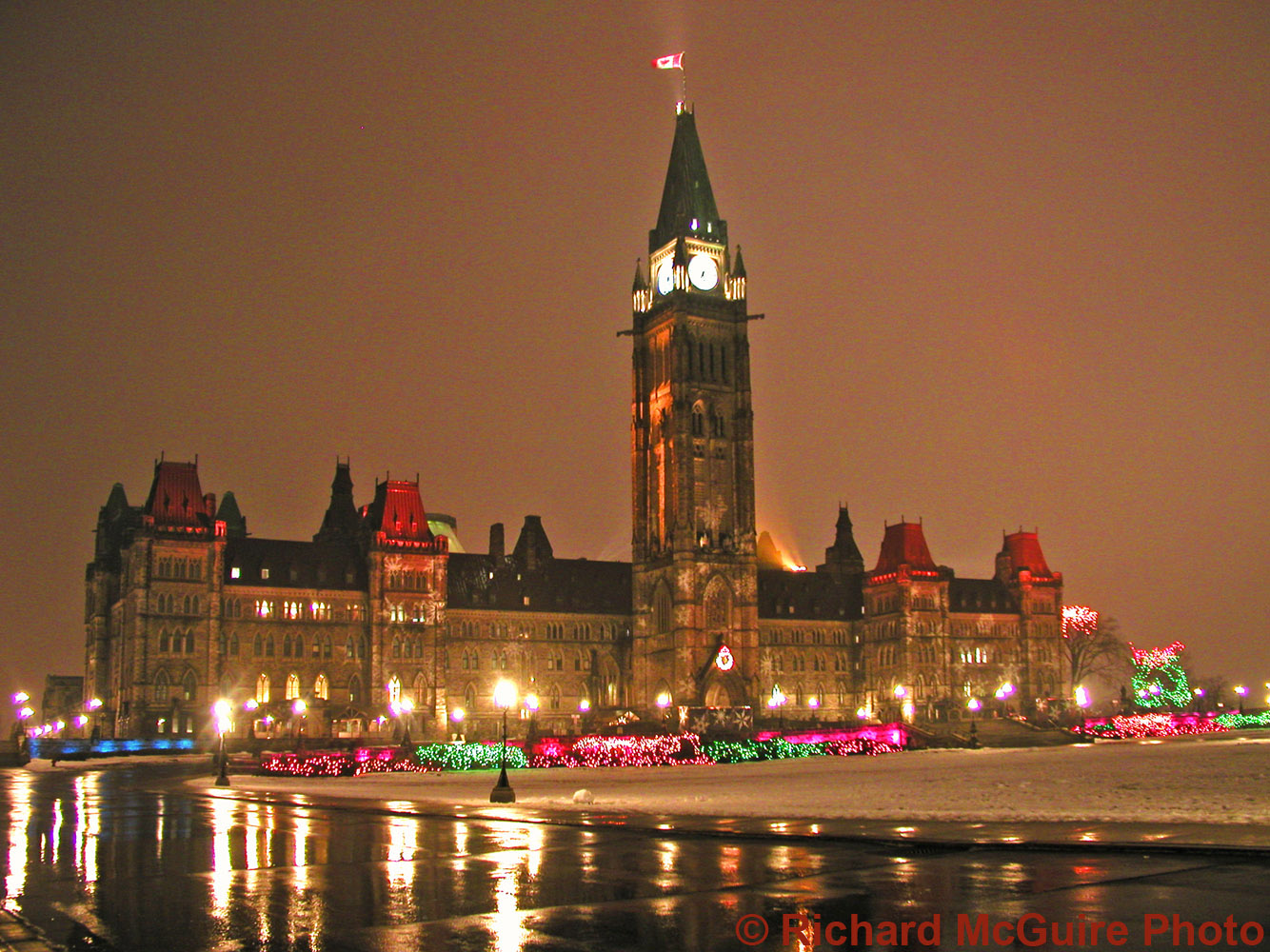 Parliament Buildings in Winter (2)