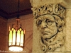 Face on wall, Parliament Buildings, Ottawa
