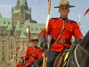 Mounties at Parliament on Canada Day