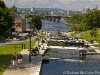 Locks on the Rideau Canal, Ottawa, Ontario