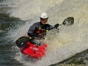 Kayaker, Ottawa River, Ottawa, Ontario
