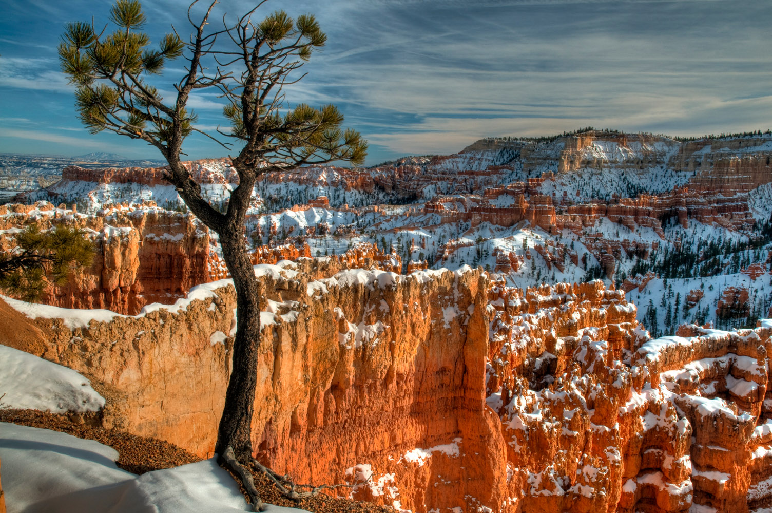 A late winter afternoon, Bryce Canyon National Park, Utah