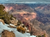 Grand Canyon, Arizona, in winter