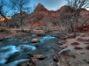 Morning in Zion National Park, Utah