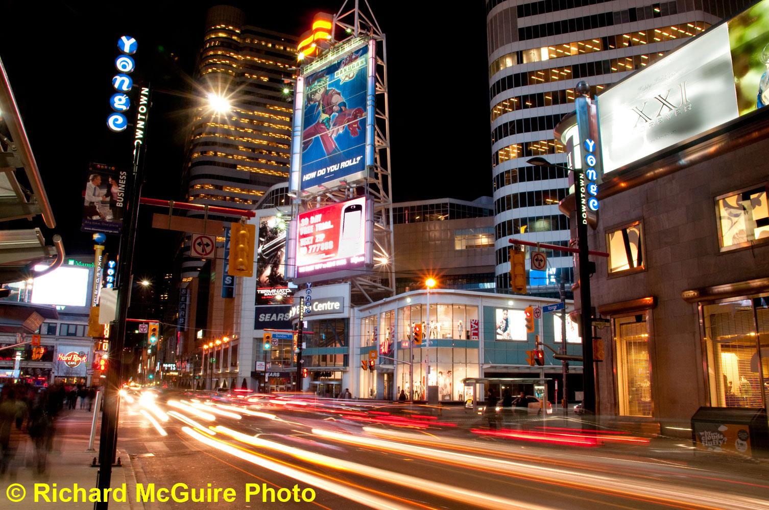Yonge Street, downtown Toronto, Canada