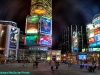 Dundas Square and the Eaton Centre, Toronto, at Night - HDR