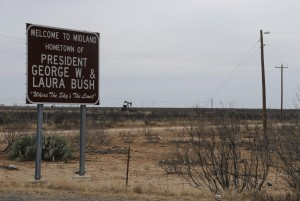 Midland, TX - Hometown of George W. and Laura Bush