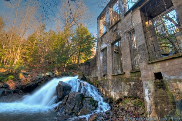 "Thomas ""Carbide"" Willson ruins, Gatineau Park, Quebec"