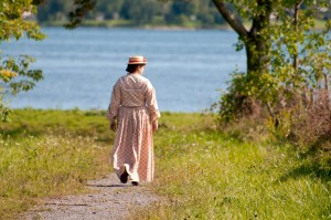 Stroll by the river, Upper Canada Village