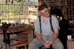 Blacksmith's shop, Upper Canada Village (4)